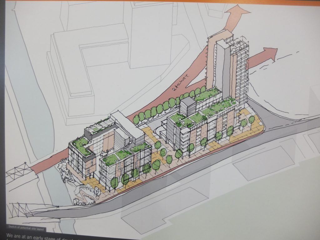 Initial proposals for Mitre Yard